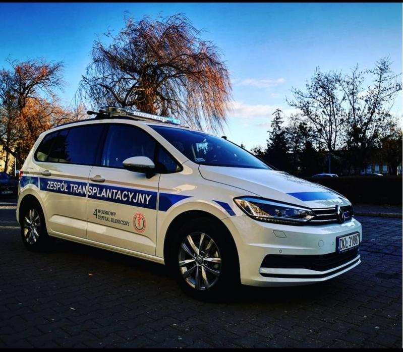 Nowe auto dla transplantologów
